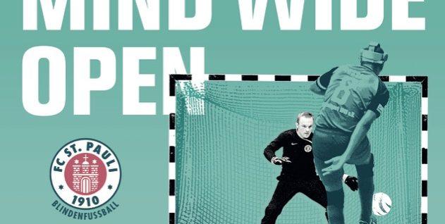 Masters 2019 Plakat mit Sven im Tor, Mulle schießt